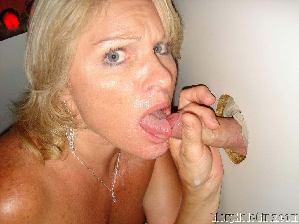 hot older women gloryhole cock