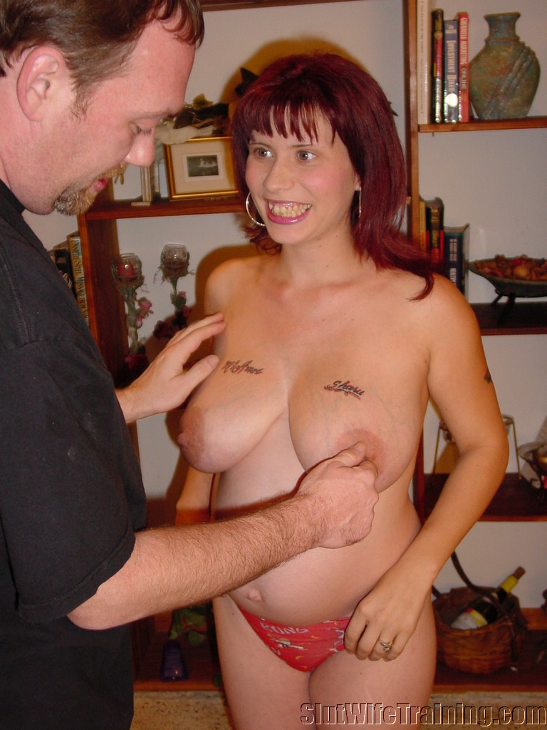 Wife sent to slut training