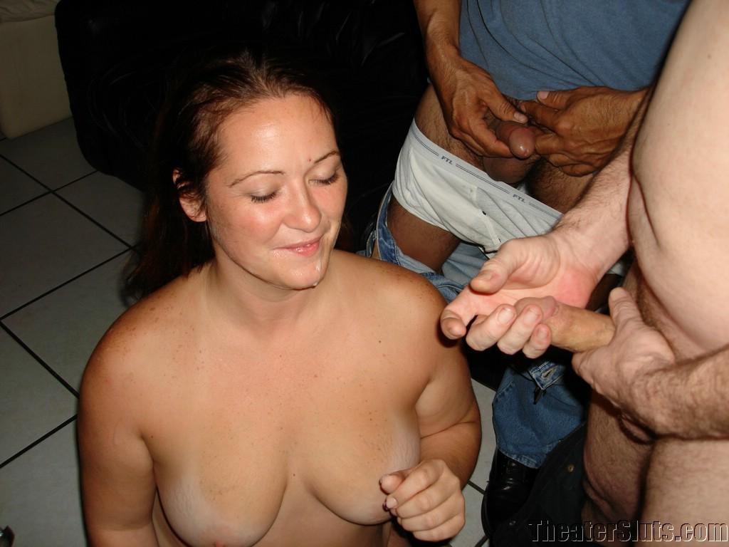 Gropes asian boobs