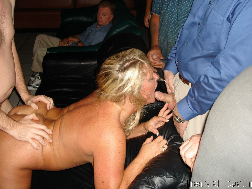 The adult theater wife fuck